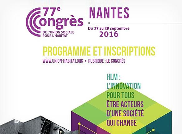 VITEX au 77e congrès HLM de Nantes du 27 au 29 Septembre 2016